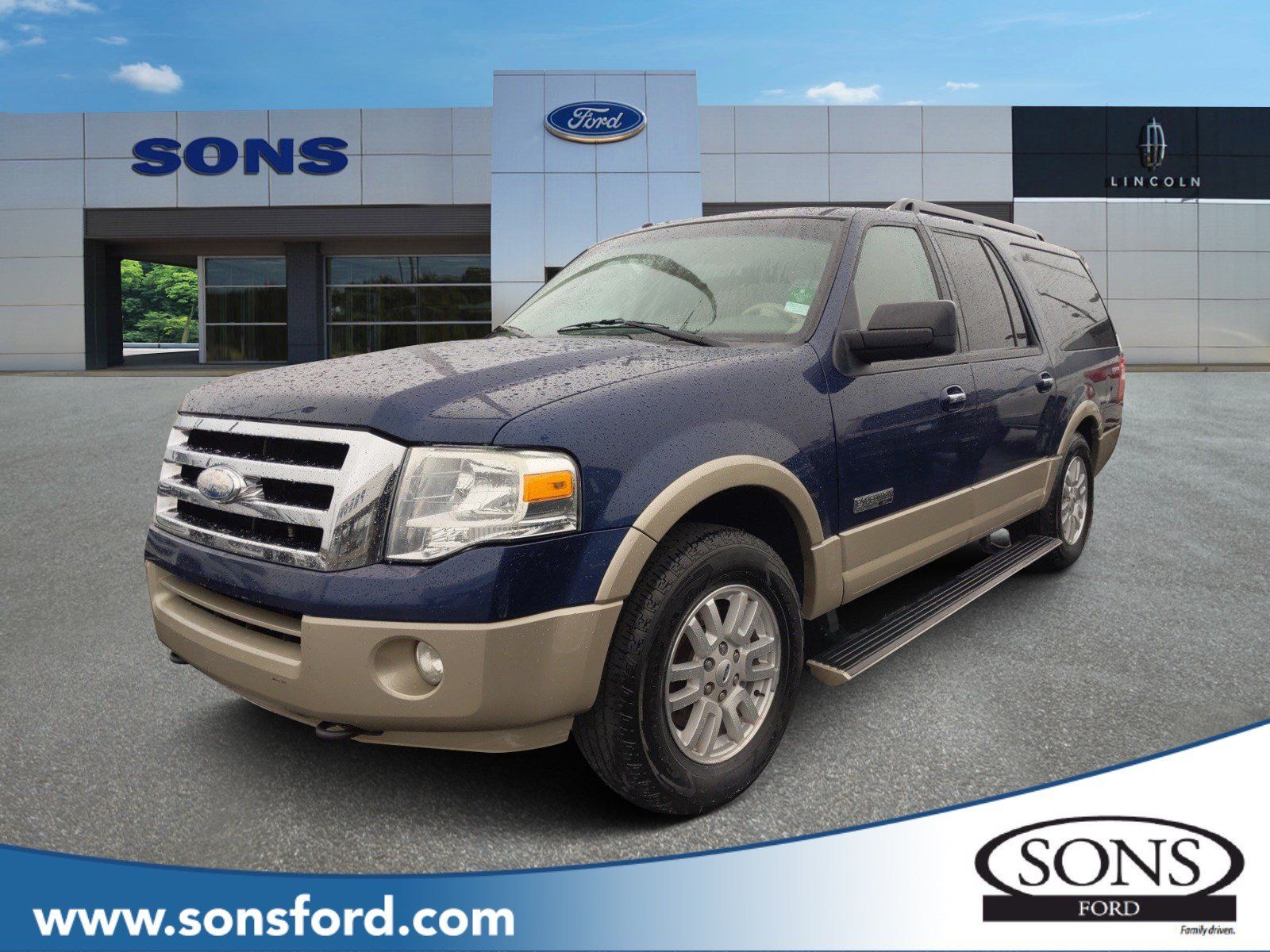Pre-Owned 2008 Ford Expedition EL Eddie Bauer