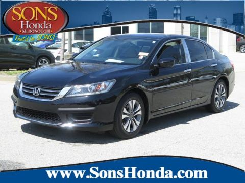 Pre-Owned 2015 Honda Accord Sedan LX