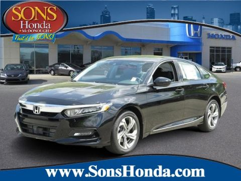 Certified Pre-Owned 2018 Honda Accord Sedan EX-L Navi 1.5T